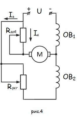 Возбуждение двигателя постоянного тока