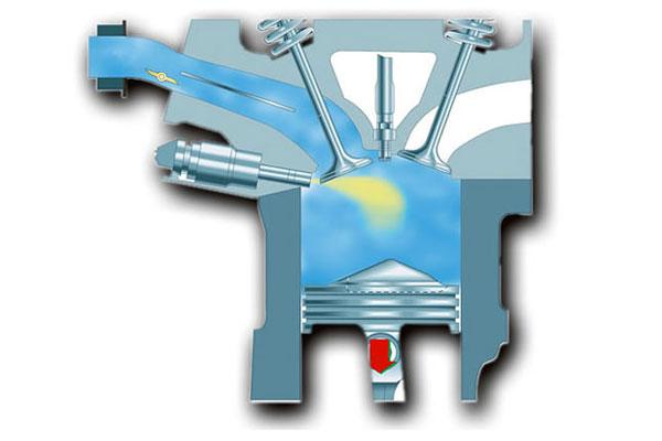 Бензиновые двигатели fsi fuel stratified injection - принцип работы.
