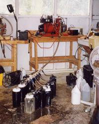 Бензиновый двигатель на воде
