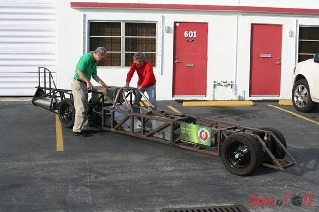 Паровой автомобиль: подготовка к новому рекорду :: автомания