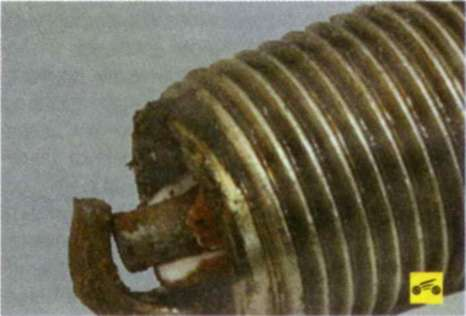 Диагностика состояния двигателя по внешнему виду свечей зажигания - форд фокус 2