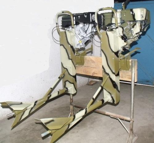 Лодочные моторы-болотоходы