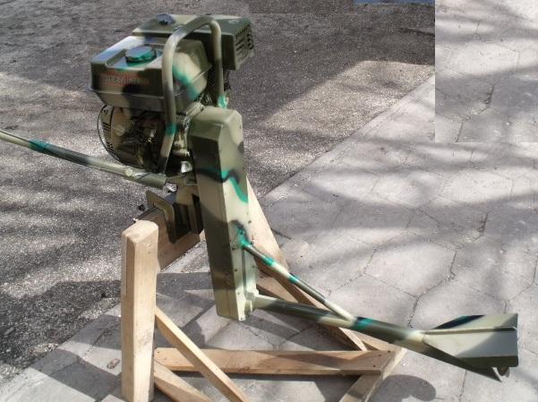 Как сделать самому мотор болотоход