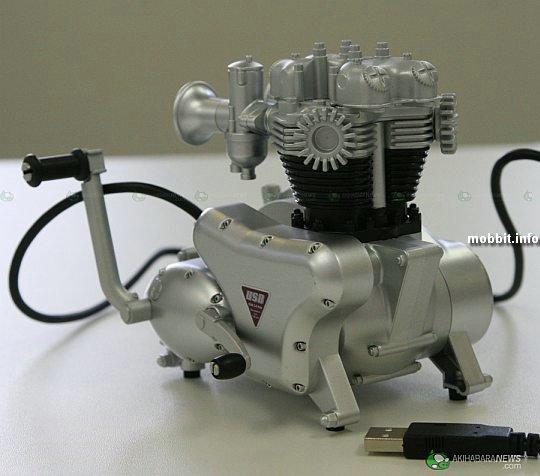 Usb-хаб в виде двигателя - usb хаб solid alliance дизайн