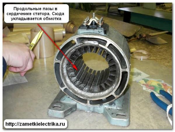Электродвигатель асинхронный своими руками