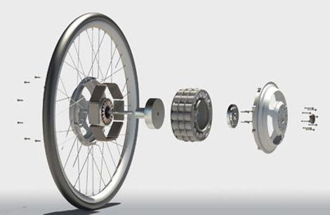 Устройство мотор колеса - основные принципы работы, что нужно и важно знать об устройстве мотор колеса