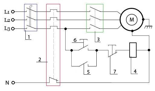 Схемы подключения трёхфазного