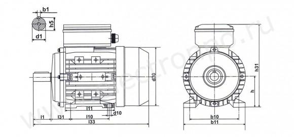 Электродвигатели асинхронные однофазные 220 в