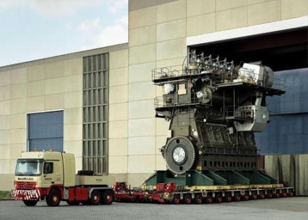 Самый большой двигатель внутреннего сгорания • технологии