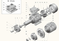 Асинхронные однофазные и трехфазные двигатели able
