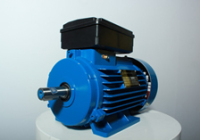 Электродвигатели асинхронные однофазные переменного тока аир 1е (в комплекте с конденсаторами)купить в донецке..