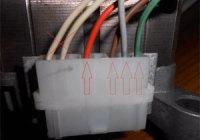 Подключение электродвигателя от стиральной машины + схема (мотора)
