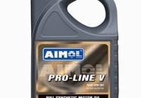 Продажа смазочных материалов — aimol pro line v 5w-30 моторное масло — компания «веда»