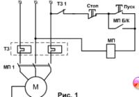 Способы защиты трехфазных асинхронных электродвигателей