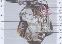 Фото двигателя  ваз 2107. карбюраторный и инжекторный двигатели.