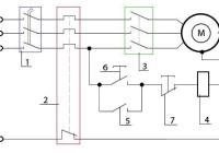 Схемы подключения трёхфазного электродвигателя