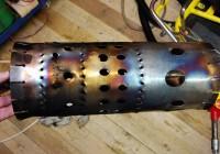 Конструкция камеры сгорания турбореактивного двигателя